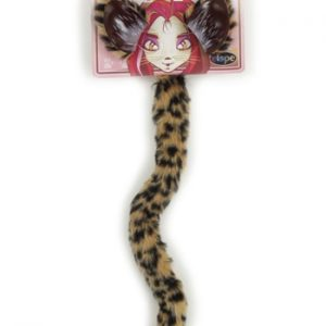 Kit de Acessórios Chita CHEETAH CAT EARS AND TAIL SET