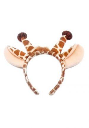 Kit de Acessórios Girafa Arco de Cabeça + Rabo GIRAFFE EARS & TAIL SET