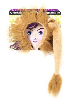 Kit de Acessórios Leão LION EARS AND TAIL KIT