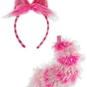 Kit de Acessórios Gato CHESHIRE CAT EARS AND TAIL