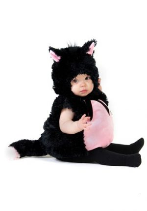 Fantasia para Bebê Gatinho Preto PLUMP BABY KITTY COSTUME