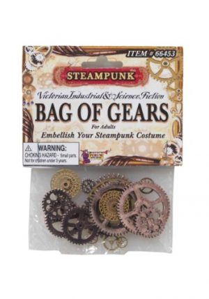 Kit de Acessórios de Engrenagem STEAMPUNK BAG OF GEARS
