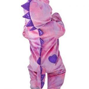 Fantasia para Bebê Dino Rosa Sonolento SLEEPY PINK DINO INFANT COSTUME.