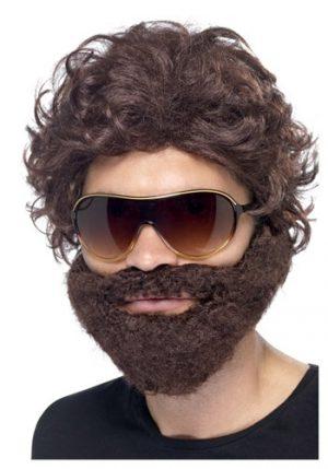 Kit de Acessórios STAG DO KIT Peruca + Barba + Oculos escuros