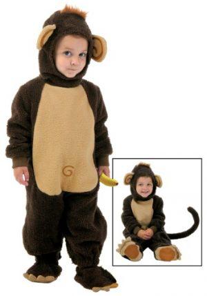 Fantasia Infantil Macaco Engraçado TODDLER FUNNY MONKEY COSTUME