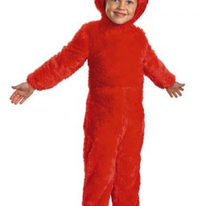 Fantasia Infantil Elmo Peludo TODDLER FURRY ELMO COSTUME