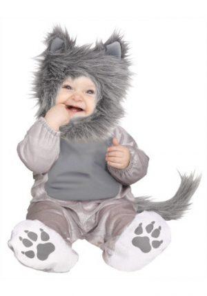 Fantasia para Bebê Filhote Lobo TODDLER LI'L WOLF CUB COSTUME