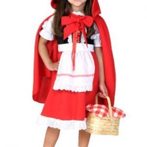 Fantasia Infantil Chapeuzinho Vermelho TODDLER LITTLE RED RIDING HOOD COSTUME