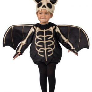 Fantasia para Bebê/Infantil Morcego Esqueleto TODDLER'S SKELETON BAT COSTUME