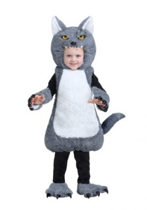 Fantasia Infantil Lobo INFANT OR TODDLER WOLF BUBBLE COSTUME