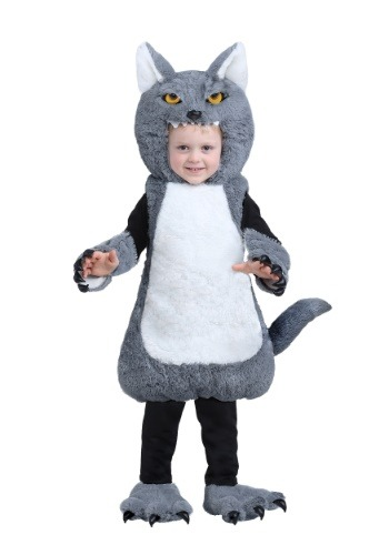 Fantasia Infantil Lobo INFANT OR TODDLER WOLF BUBBLE COSTUME