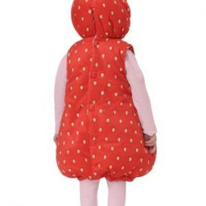 Fantasia Infantil Morango INFANT/TODDLER STRAWBERRY BUBBLE COSTUME