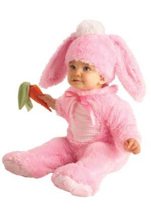 Fantasia para Bebê Coelho Rosa BABY PINK BUNNY COSTUME