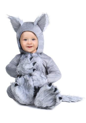 Fantasia para Bebê Lobo INFANT WOLF COSTUME