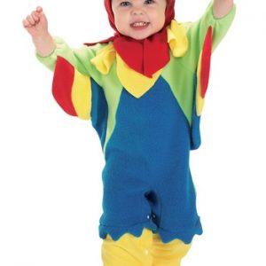 Fantasia para Bebê Papagaio BABY PARROT COSTUME