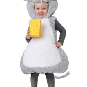 Fantasia Infantil Rato TODDLER BUBBLE MOUSE COSTUME