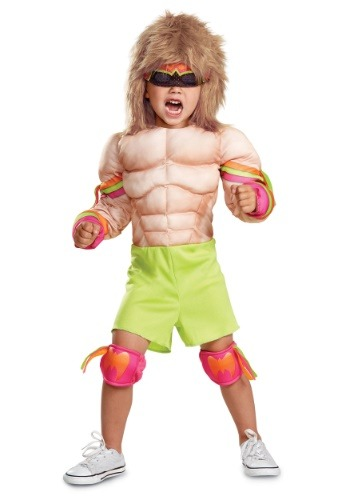 Fantasia Infantil Campeão Musculoso WWE ULTIMATE WARRIOR MUSCLE BABY COSTUME