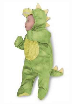 Fantasia para Bebê Dino Verde Sonolento INFANT SLEEPY GREEN DINO COSTUME