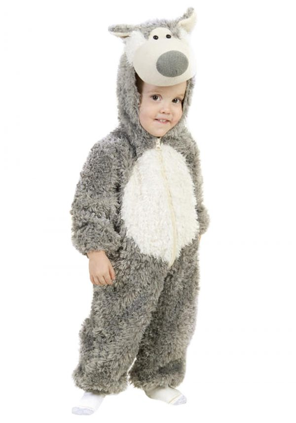 Fantasia Infantil Lobo Mau TODDLER BIG BAD WOLF COSTUME