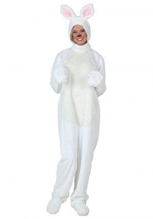 FANTASIA ADULTO COELHO BRANCO WHITE BUNNY COSTUME