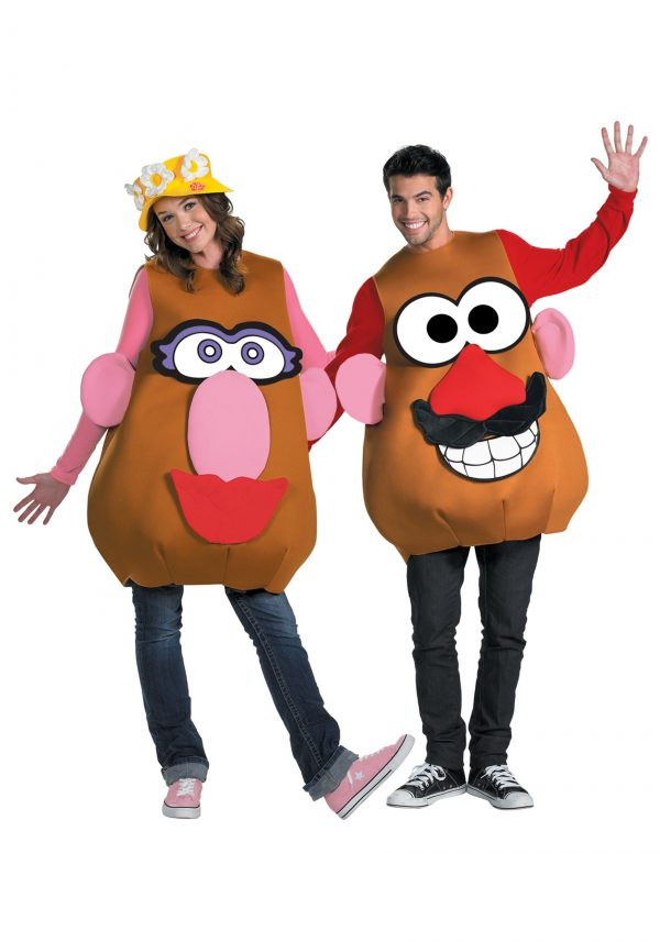 Fantasia Sr ou Sra Cabeça de Batata MRS / MR POTATO HEAD ADULT COSTUME