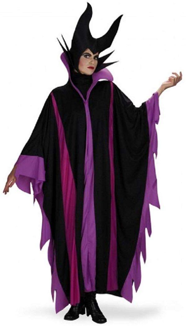 Fantasia Adulto Malévola Luxo da Bela Adormecida Maleficent Deluxe Costume
