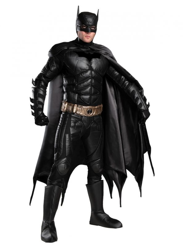 Fantasia Batman Dark Knight Luxo Adulto DARK KNIGHT ADULT BATMAN COSTUME