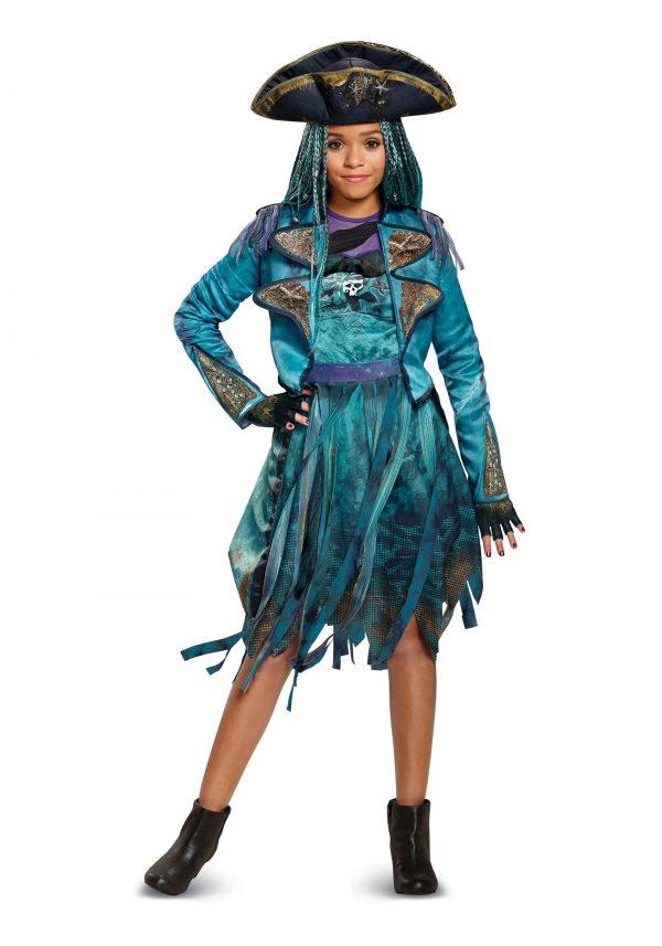 Fantasia Descendentes 2 Disney Uma Infantil Luxo DESCENDANTS 2 UMA CHILD DELUXE COSTUME