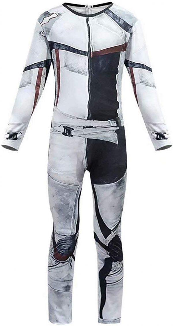 Fantasia Descendentes 3 Carlos Disney Luxo Jay Carlos Costume Jumpsuit Bodysuit for Boys Mens