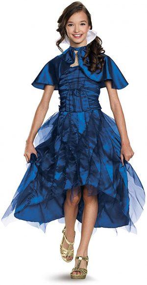 Fantasia Descendentes Disney Evie Infantil Vestido Evie Coronation Deluxe Costume
