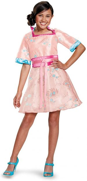 Fantasia Descendentes Disney Lonnie Infantil Luxo Girls Deluxe Lonnie Coronation Costume