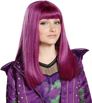 Peruca Descendentes 2 Disney Mal Infantil Luxo Disney's Descendants 2: Mal Child Wig