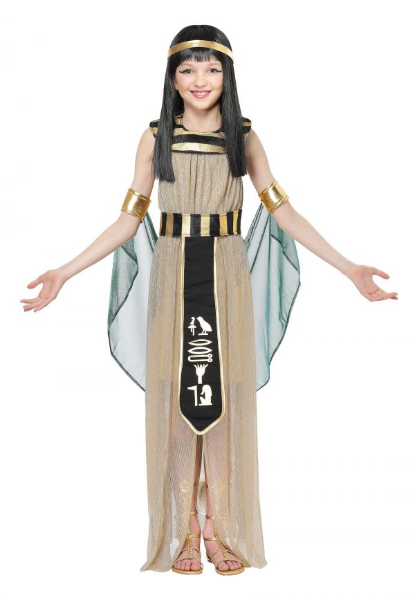 Fantasia infantil menina ALL POWERFUL GIRLS CLEOPATRA COSTUME