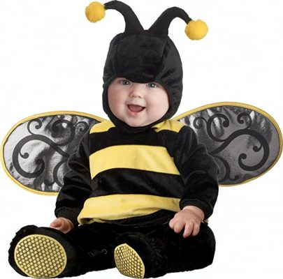 Fantasia Abelha Bebê Parmalat InCharacter Baby Lil' Stinger Bee Costume