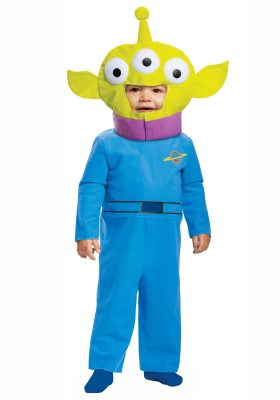 Fantasia Alien Toy Story Bebê Toy Story Infant Alien Costume