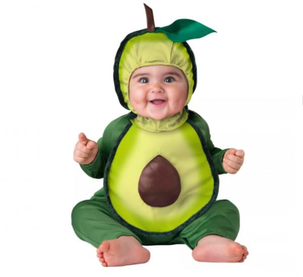 Fantasia Abacate Bebê Parmalat Infantil InCharacter Avocuddles Infant Costume