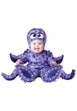Fantasia Animal Polvo Bebê Parmalat Tiny Tentacles Octopus Costume