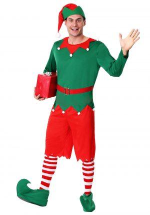 Fantasia de ajudante do Papai Noel masculino – Men's Santa's Helper Costume