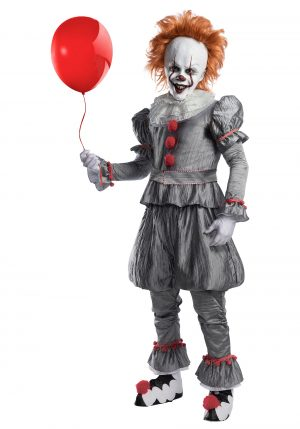 Fantasia Adulto  do Filme IT a coisa – Deluxe IT Movie Pennywise Adult Costume