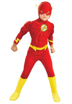 Fantasia de flash infantil – Deluxe Kids Flash Costume