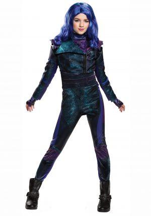 Fantasia Infantil  Disney Descendants 3 – Deluxe Disney Descendants 3 Mal Girls Costume