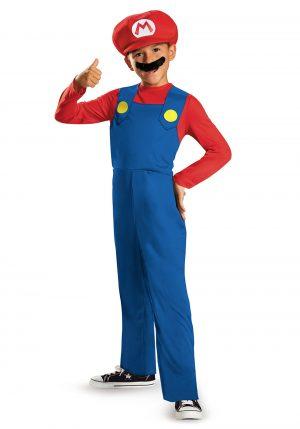 Fantasia Infantil Mario Bross – Boys Mario Classic Costume