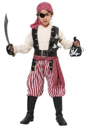 Fantasia Infantil de Pirata para Meninos -Battlin' Buccaneer Boys Costume