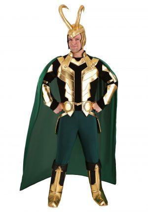 Fantasia Loki Premium Marvel para Homens- Marvel Loki Premium Costume for Men