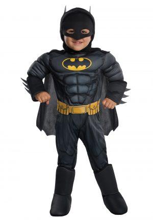 Fantasia de Batman Infantil – Deluxe Batman Toddler Costume