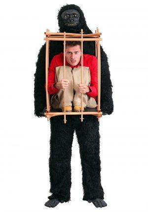 Fantasia de Homem em uma Gaiola de Gorila – Man in a Gorilla Cage Costume