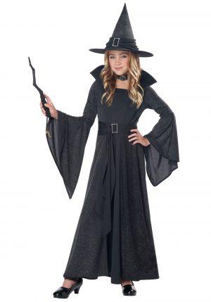 Fantasia de bruxa para meninas -Girls Moonlight Shimmer Witch Costume