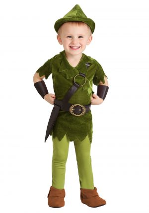 Fantasia  de criança  Peter Pan – Toddler Classic Peter Pan Costume