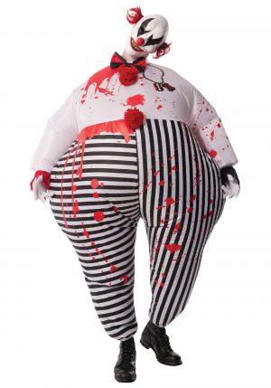 Fantasia de palhaço mau inflável adulto – Adult Inflatable Evil Clown Costume
