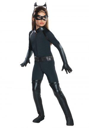 Fantasia infantil Mulher Gato -Girls Deluxe Catwoman Costume
